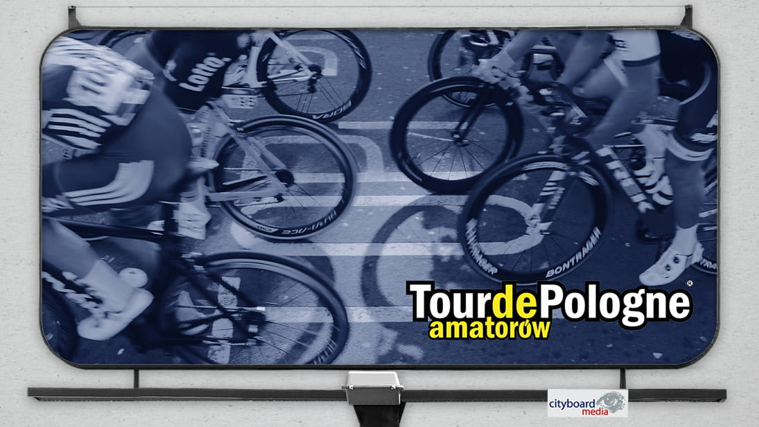 Cityboard Media w Tour de Pologne Amatorów 2019